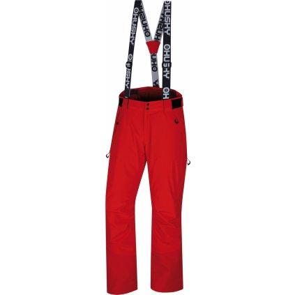 Pánské lyžařské kalhoty HUSKY Mitaly M červená