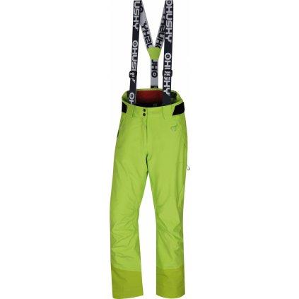 Dámské lyžařské kalhoty HUSKY Mitaly L výrazně zelená
