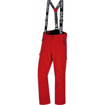Pánské lyžařské kalhoty HUSKY Galti M červená