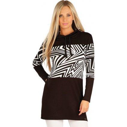 Mikinové šaty LITEX s dlouhým rukávem