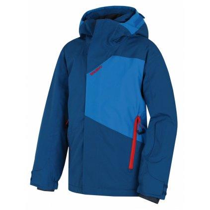 Dětská ski bunda HUSKY Zort Kids tm.modrá