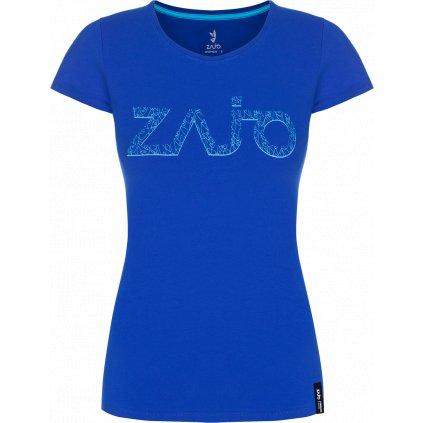 Dámské tričko ZAJO Corrine W T-shirt SS modrá