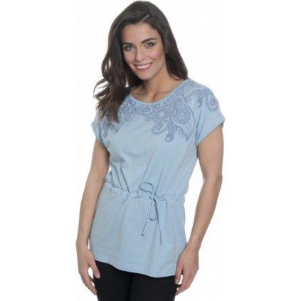 Dámské triko SAM 73 s krátkým rukávem světle modrá