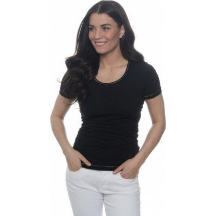 Dámské triko SAM 73 s krátkým rukávem černá