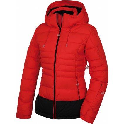 Dámská plněná zimní bunda HUSKY Nerel L jemně červená