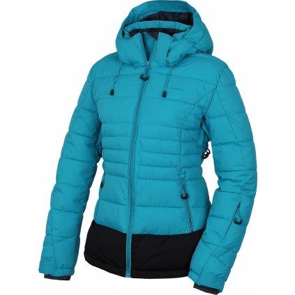 Dámská plněná zimní bunda HUSKY  Nerel L Tyrkysová