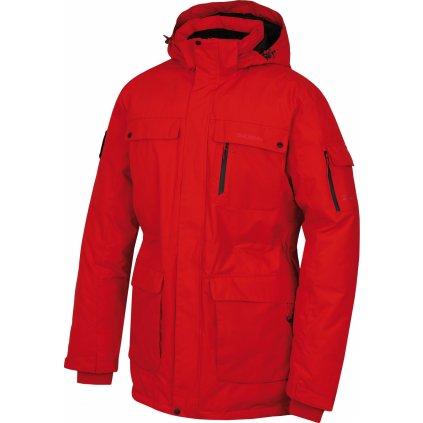 Pánská péřová bunda HUSKY Dantex M červená