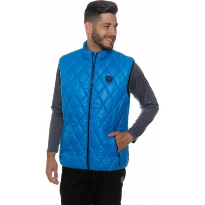Pánská vesta SAM 73 modrá jasná
