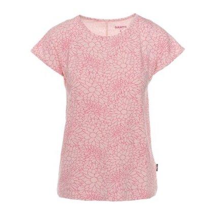 Dámské triko SAM 73 s krátkým rukávem Ltsp537 413sm světle růžová xs