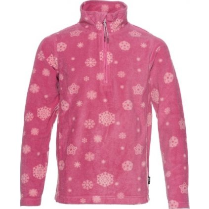 Dívčí mikina SAM 73 - fleece růžová
