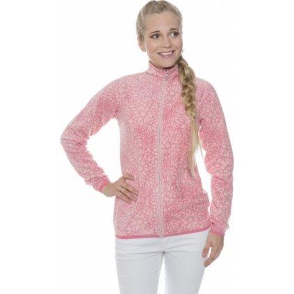 Dámská mikina SAM 73 - fleece Lswp230 413sm světle růžová xs
