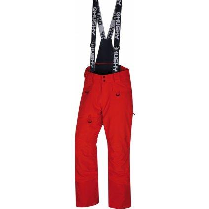 Pánské lyžařské kalhoty HUSKY Gilep M výrazně červená