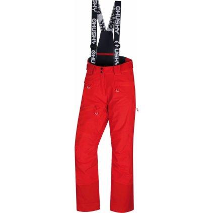 Dámské lyžařské kalhoty HUSKY Gilep L výrazně červená