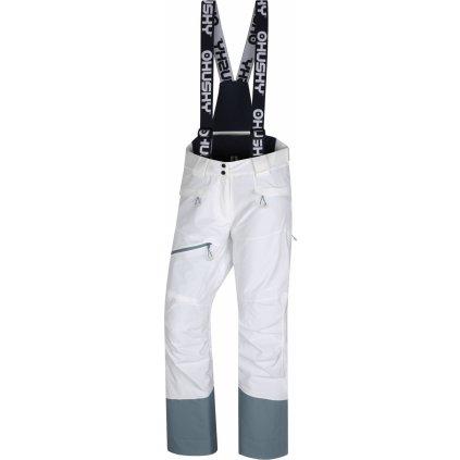 Dámské lyžařské kalhoty HUSKY Gilep L bílá
