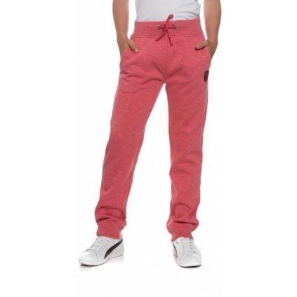 Dívčí kalhoty SAM 73 Malinová