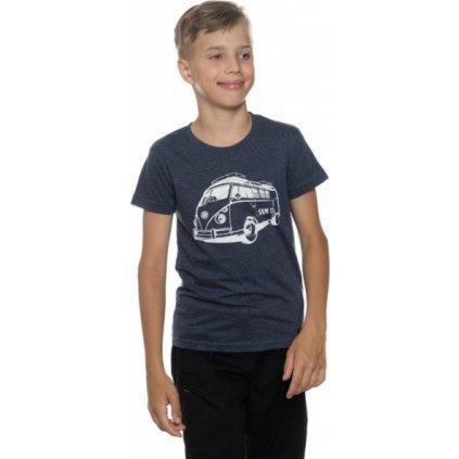 Chlapecké triko s krátkým rukávem SAM 73 Tmavě modrá
