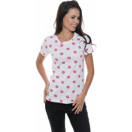 Dámské triko SAM 73 s krátkým rukávem Ltsp530 415sm růžová - fuchsia xs