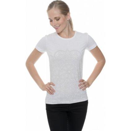 Dámské triko SAM 73 s krátkým rukávem Ltsp531 000sm bílá xs