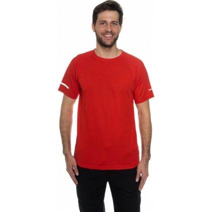 Pánské triko SAM 73 s krátkým rukávem Mtsn392 475sm červená s