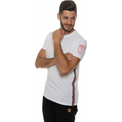 Pánské triko SAM 73 s krátkým rukávem Mt 753 000 bílá xs
