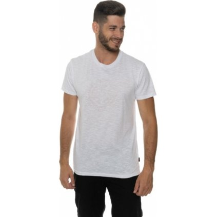 Pánské triko SAM 73 s krátkým rukávem Mt 755 000 bílá s