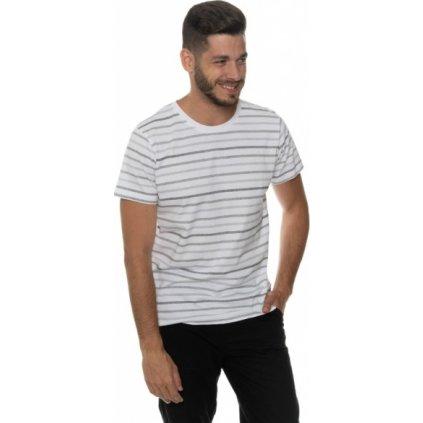 Pánské triko SAM 73 s krátkým rukávem Mtsp428 773sm šedá světlá s