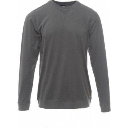 Pánské triko SAM 73 s dlouhým rukávem Mtsp433 770sm šedá tmavá s