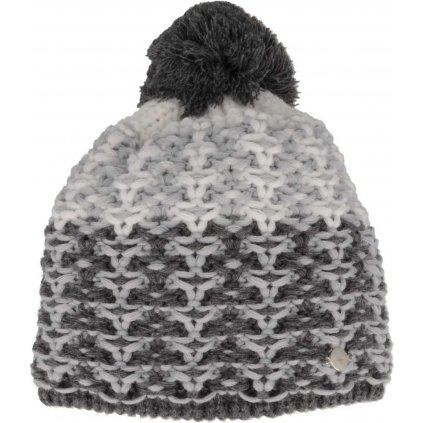 Zimní čepice RELAX Amelia šedá