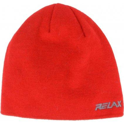 Zimní čepice RELAX Gumble červená