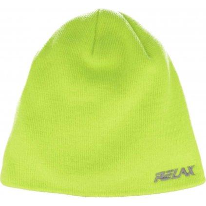 Zimní čepice RELAX Gumble žlutá