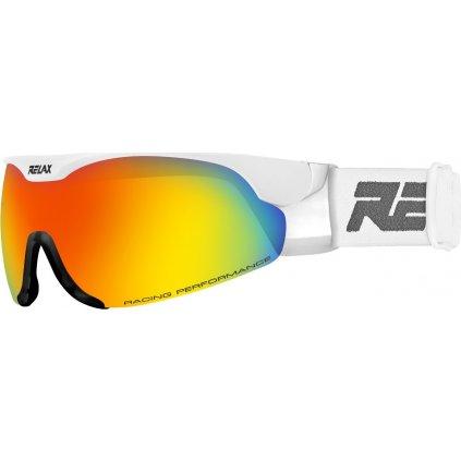 Lyžařské brýle RELAX Cross lesklá bílá