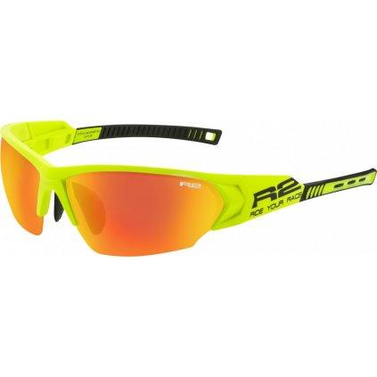 Sportovní sluneční brýle R2 Universe Rx žlutá