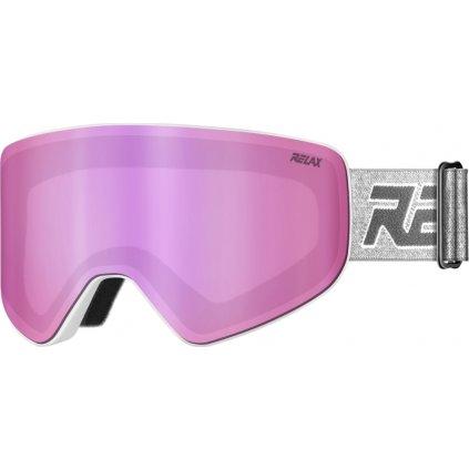 Lyžařské brýle RELAX Sierra bílá