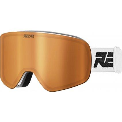 Lyžařské brýle RELAX Feelin bílá