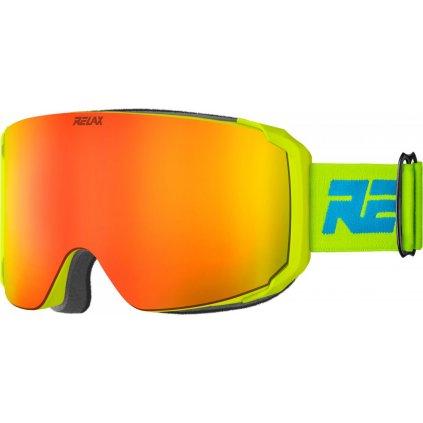 Lyžařské brýle RELAX Squad žlutá