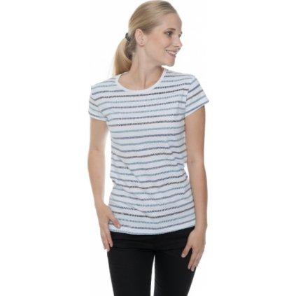 Dámské triko SAM 73 s krátkým rukávem Tmavě modrá