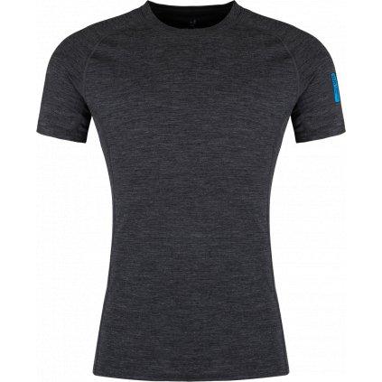 Pánské tričko ZAJO Bjorn Merino modrá