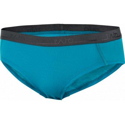 Dámské spodní prádlo ZAJO Elsa Merino W Briefs modré