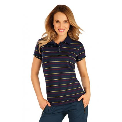 Dámské polo tričko LITEX s krátkým rukávem