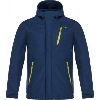 Pánská softshellová bunda LOAP Lombard modrá