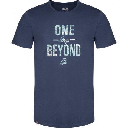 Pánské triko LOAP Beyond modrá