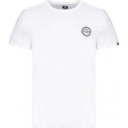 Pánské triko LOAP Beret bílá