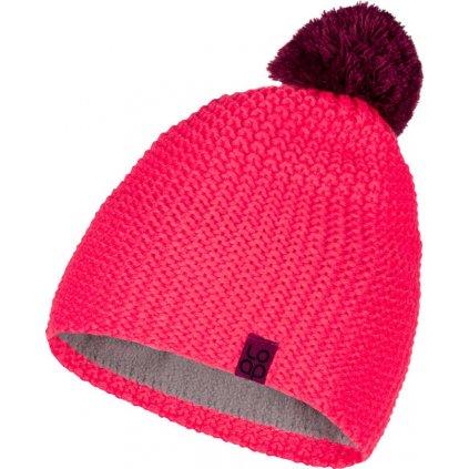 Zimní čepice LOAP Zalo růžová
