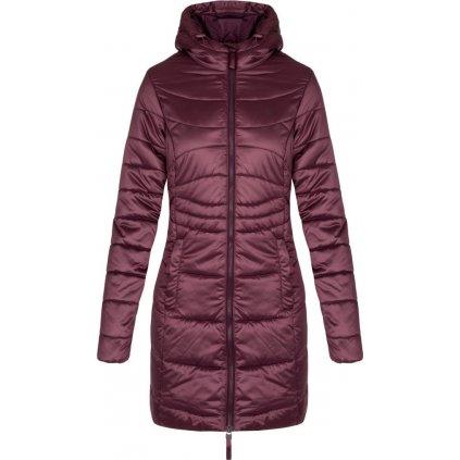 Dámský zimní kabát LOAP Takita fialová