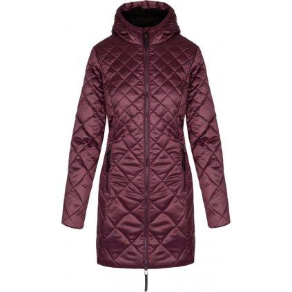 Dámský zimní kabát LOAP Tency  fialová