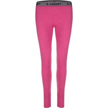 Dámské termo kalhoty LOAP Petula růžová