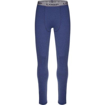 Pánské termo kalhoty LOAP Pette modrá