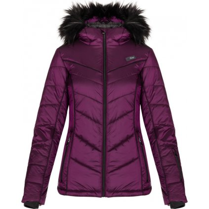 Dámská lyžařská bunda LOAP Odelie fialová