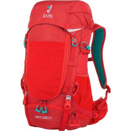 Turistický batoh ZAJO Ortler 28 Backpack rudá