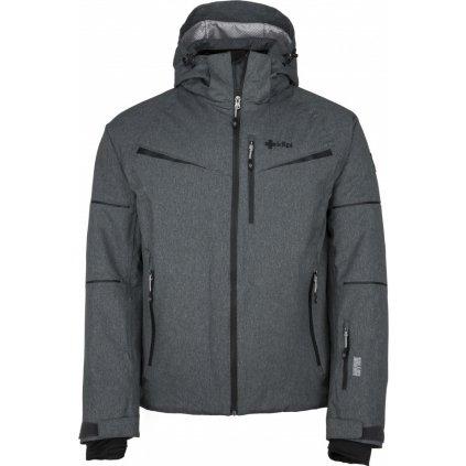 Pánská lyžařská bunda KILPI Martin-m tmavě šedá